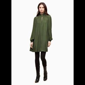 NWOT Aritzia Wilfred Garlyn Dress Green XXS 0